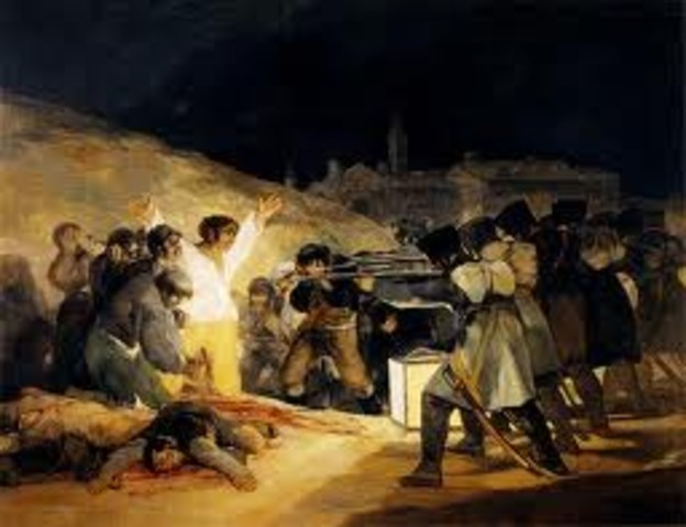 Inicio de la Guerra de la Independecia en España.
