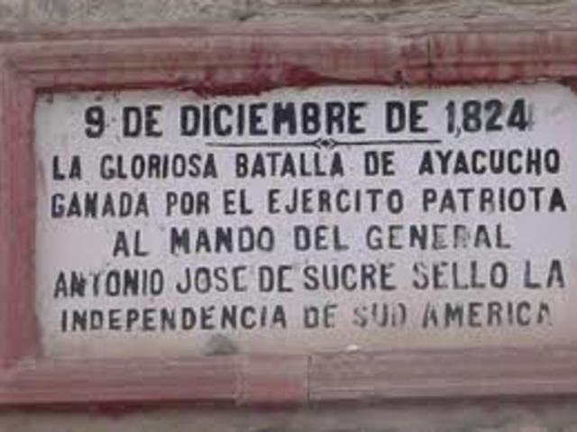 Independencia de Hispanoamérica.