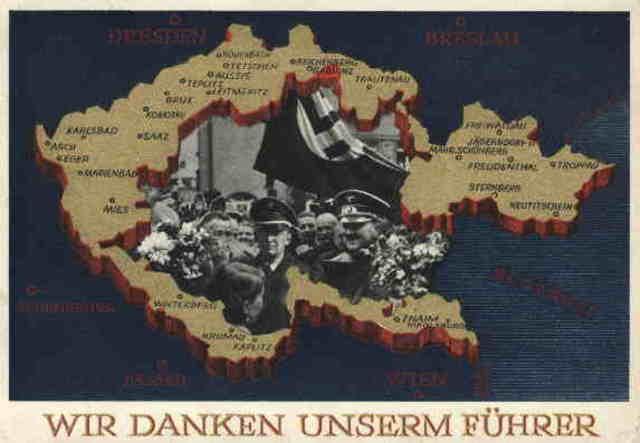 German Troops Occupy Sudetenland