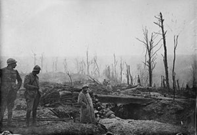 The beginnig of Battle of Verdun