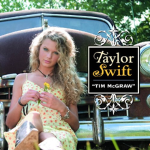 """Taylor releases her single """"Tim McGraw."""""""