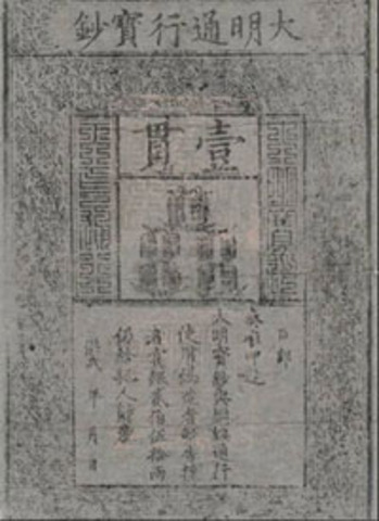 Paper money (economic aspect)
