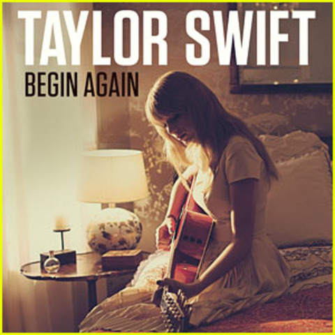 """Taylor Swift releases her single """"Begin Again"""""""