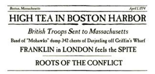Closing of Boston Harbor