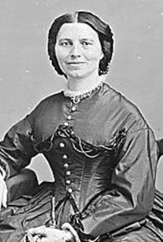 Clara Barton Creates the American Red Cross