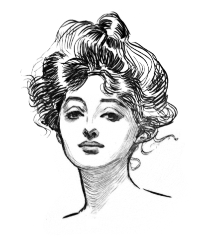 Gibson Girl Created