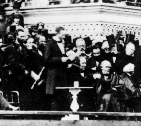 Lincoln Delivers His Second Inaugural Address