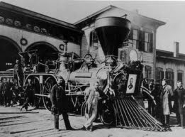 Lincoln's Funeral Train Departs