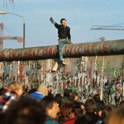 Berlinmurens fald timeline