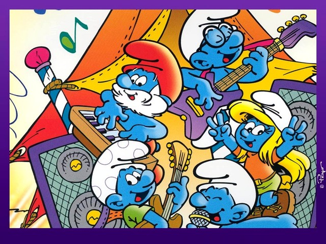 The Smurfs are Introduce by Pierre Culliford