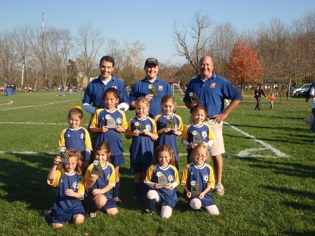 Won Girls Rec. Soccer Tournament