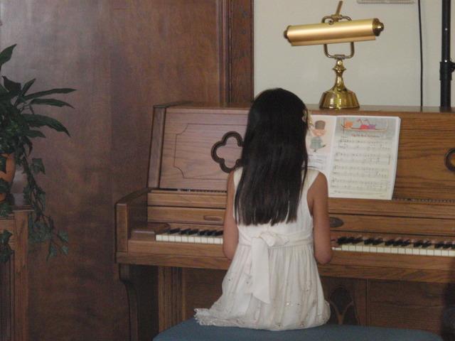 Erin's First Piano Recital