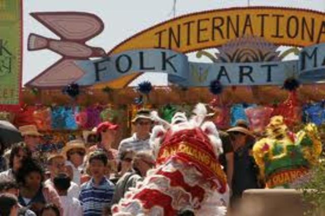 Museum of International Folk Art in Santa Fe is opened