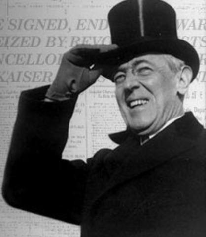 wilson plan ( after 1918 or World War One )