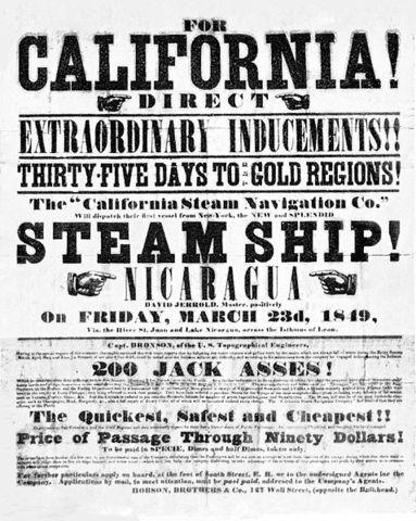 California Gold Rush starts