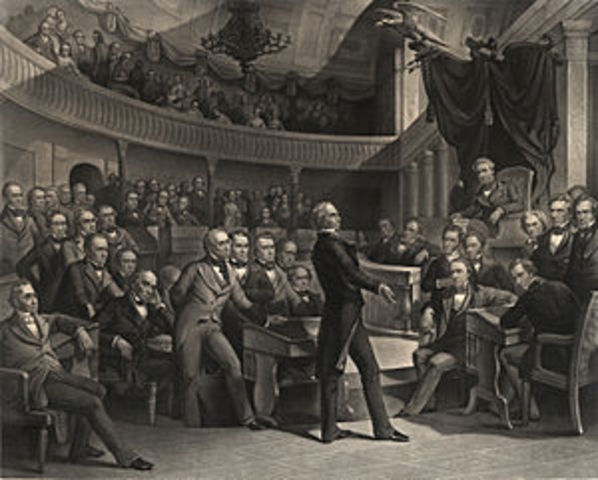Henry Clay Proposes what becomes the Missouri Compromise
