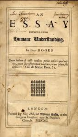 Locke writes his first draft of the Essay Concerning Human Understanding, in it are ideas on Natural Law; based partially on the writings of others.