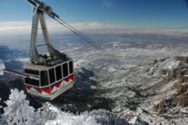Sandia Peak Tramway Opened