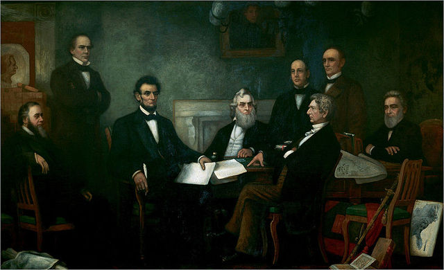 """Emancipation Proclamation - Following the Battle of Antietam, Abraham Lincoln issues the Emancipation Proclamation, essentially freeing the Slaves in the Conderacy as a """"military necessity""""."""