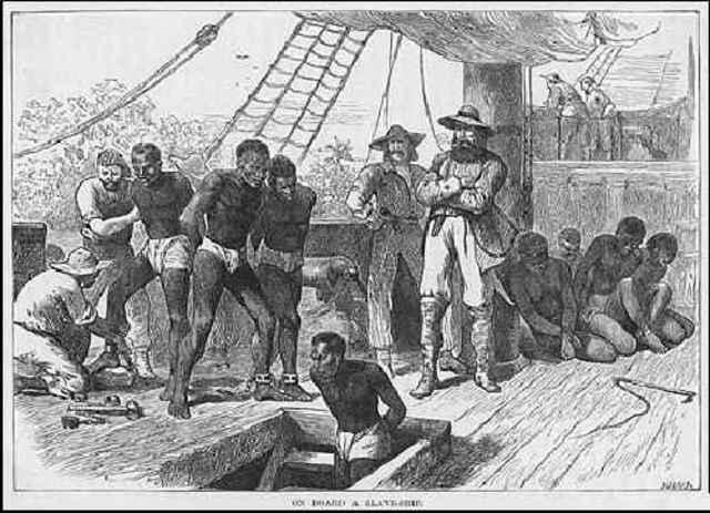Beginning of Portuguese slave trade
