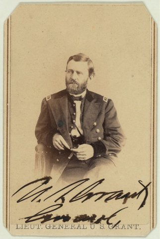 Ulysses S. Grant promoted to Major General, takes command of the Army of the Potomac