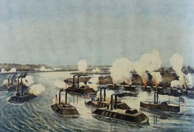 The Battle of Island Number Ten - the Union seeks to divide the Confederacy by capturing the Mississippi River