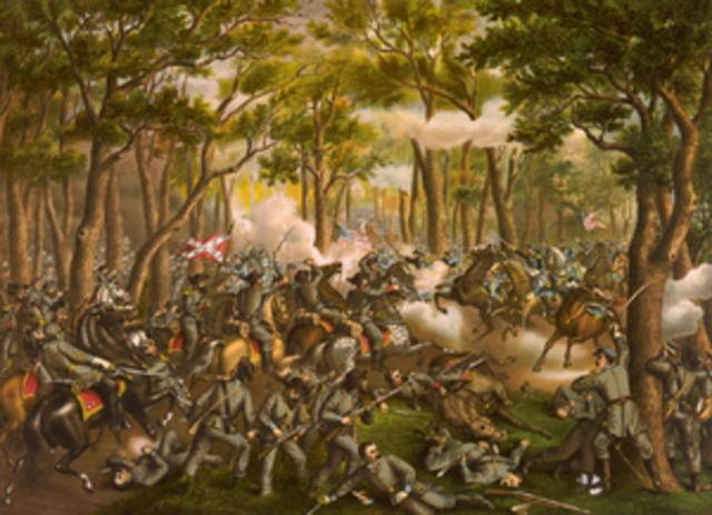 Battle of the Wilderness - Grant confronts Lee in a Battle of Attrition