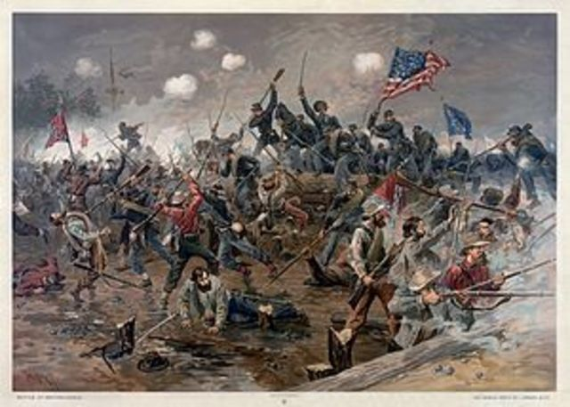 Battle of Spotsylvania Courthouse - Grant continues to take the battle to Lee, grinding out victory through attrition.