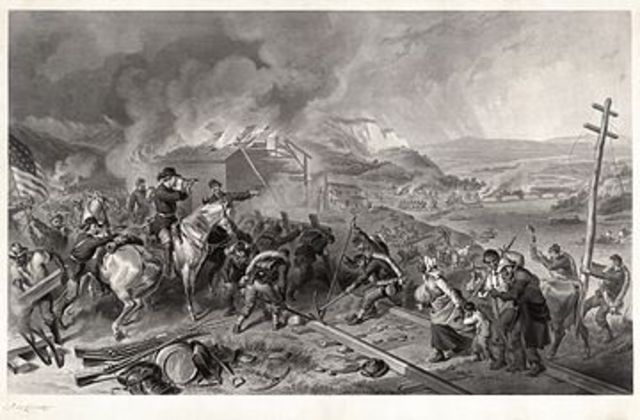 """Sherman's """"March to the Sea"""" from Atlanta to Savanah, leaving a swath of destruction remembered to this day"""