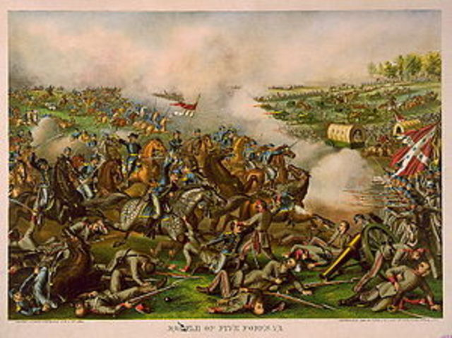 The Battle of Five Forks - the End draws near for the Confederacy