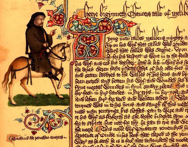 Второй период среднеанглийский