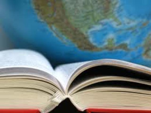 Возникла потребность в изучении иностранных языков.