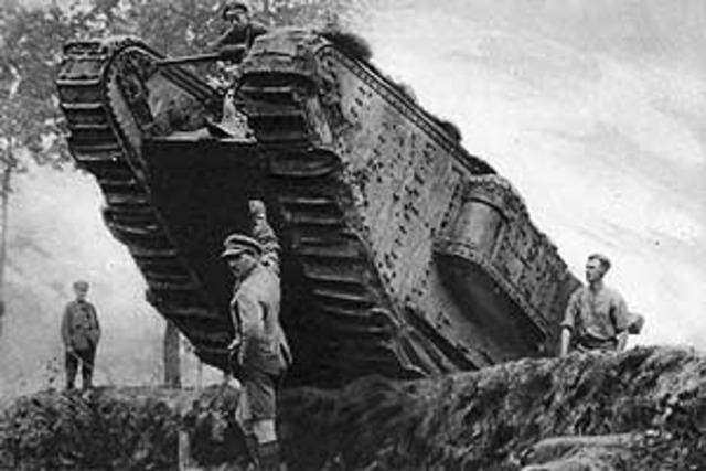 Start of World War 1