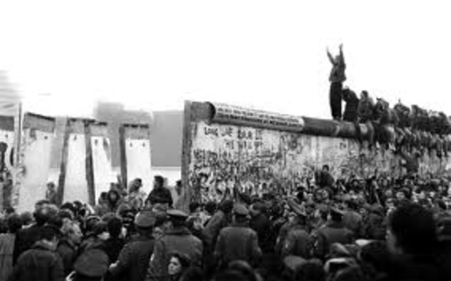 The Fall of the Berlin wall.