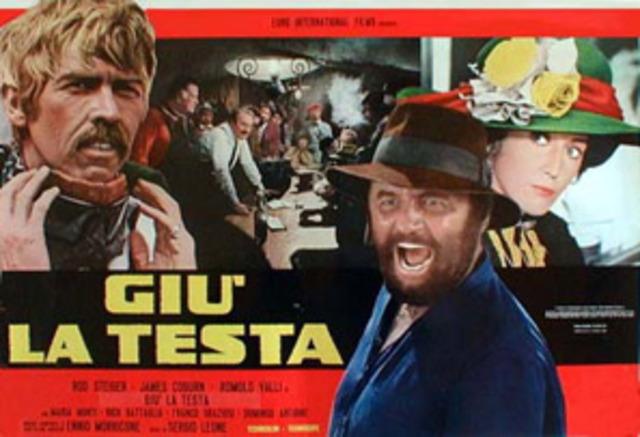 Sergio ha diretto il film Gi? la testa (Duck, You Sucker)