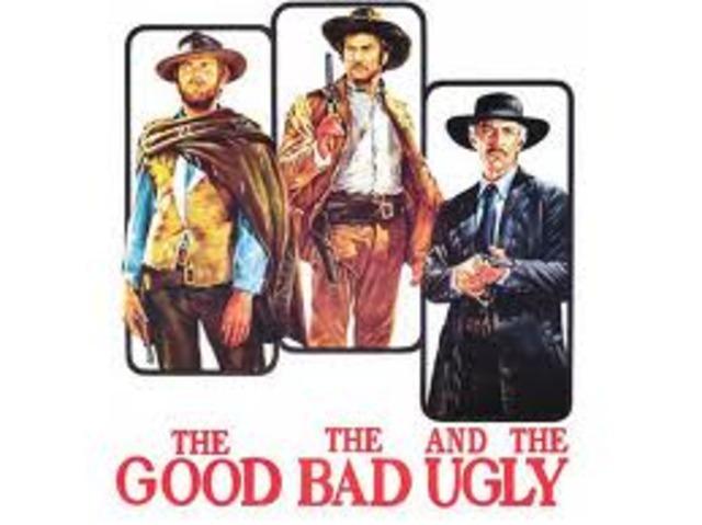 Sergio ha diretto un film molto famoso: ll buono il brutto il cattivo (The Good, the Bad, and the Ugly)