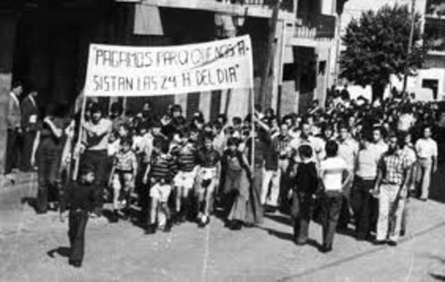 La transición en Euskal Herria