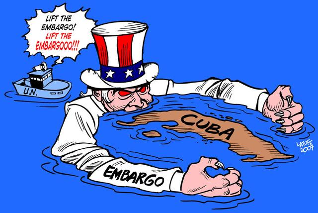 Se agudiza embargo a Cuba