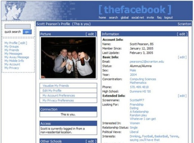thefacebook expands