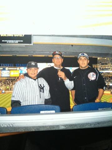 Un juego de playoff Yankees