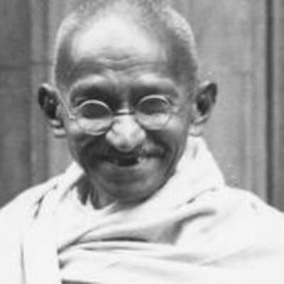 Life of Mohandas K. Gandhi  timeline