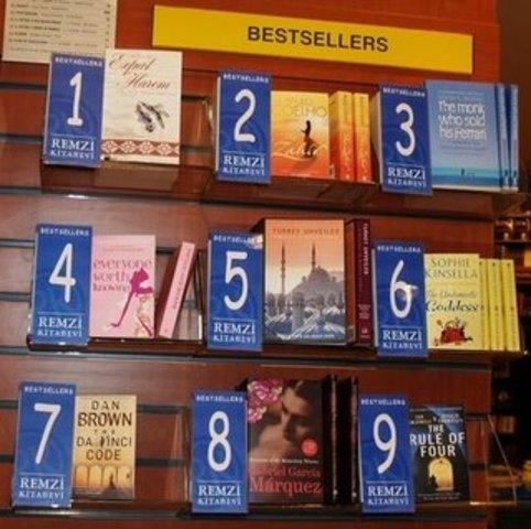 Discusión no. 2: best-sellers