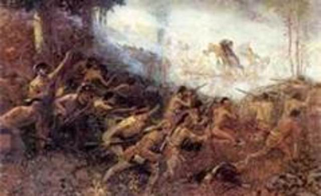 French troops defeat General Braddock