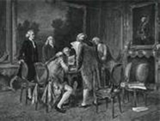 Treaty of Paris is signed between Britain & France, ending the French & Indian War