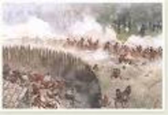 - French and Indian War begins at Battle of Fort Necessity