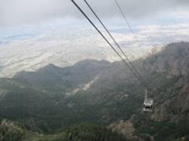 albuquerque tramway was built