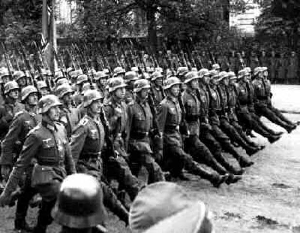 L'Allemagne attaque la Pologne
