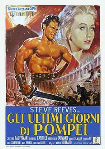 """Sergio Leone diretto """"The Last Days of Pompeii"""", """"Gli ultimi giorni di Pompei""""."""