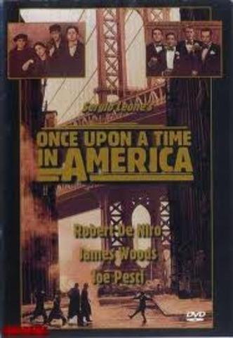 "Sergio Leone diretto ""Once Upon a Time in America""."