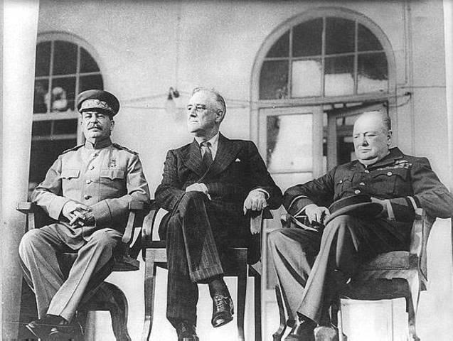 Alliés rencontrent à Téhéran